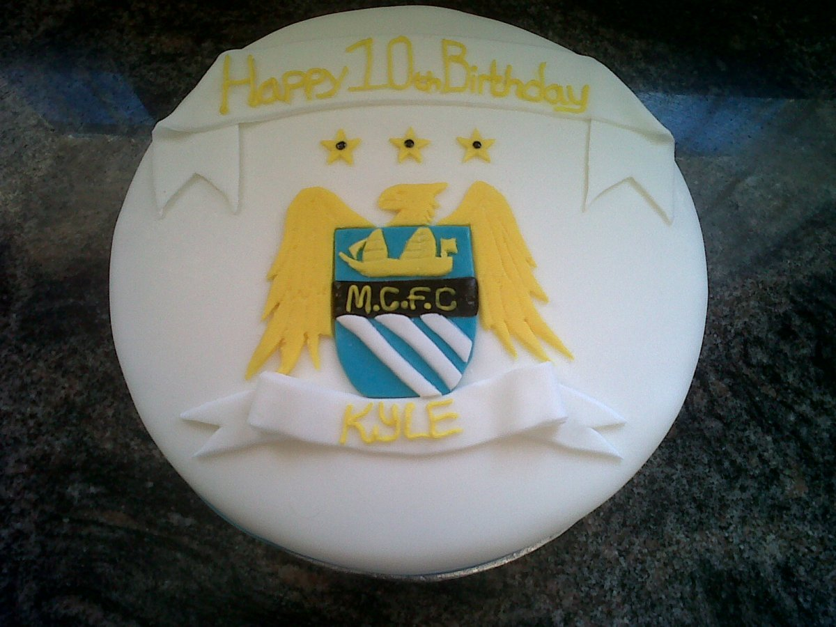 Manchester City Birthday Cake Fancycakesbenidorm