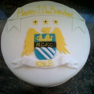 Football Themed 10th Birthday Cake Benidorm