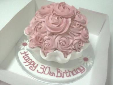 Giant Birthday Cupcake Benidorm