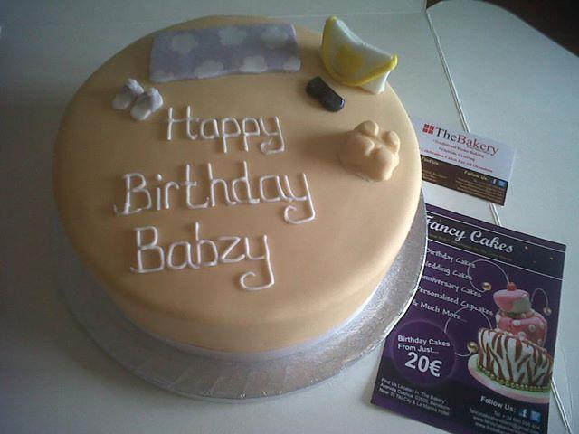 Stupendous Beach Themed Birthday Cake Fancycakesbenidorm Funny Birthday Cards Online Overcheapnameinfo