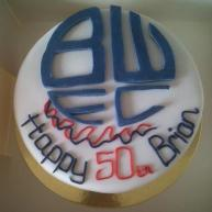 Football Themed 50th Birthday Cake Benidorm