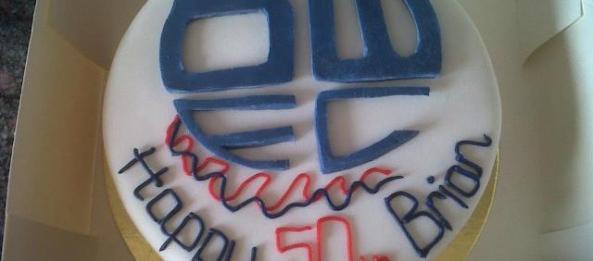 Wanderers Cake Ideas