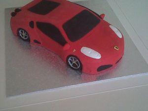 Ferrari F430 Front Birthday Cake Benidorm Costa Blanca