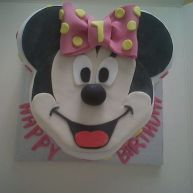 Minnie Mouse Birthday Cake Benidorm