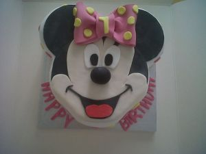 Minnie mouse Birthday Cake Benidorm Costa Blanca