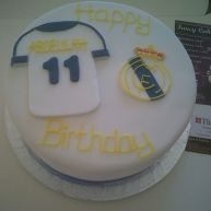 Football Themed Birthday Cake Benidorm