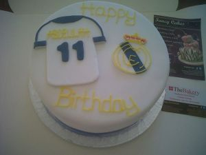 Real Madrid Birthday Cake Benidorm Costa Blanca