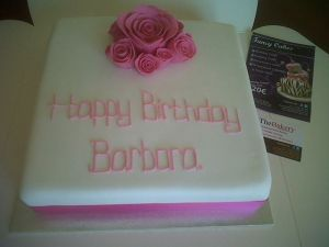 Birthday Cake Maker Costa Blanca