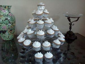 Costa Blanca Benidorm Wedding Cupcake Tower