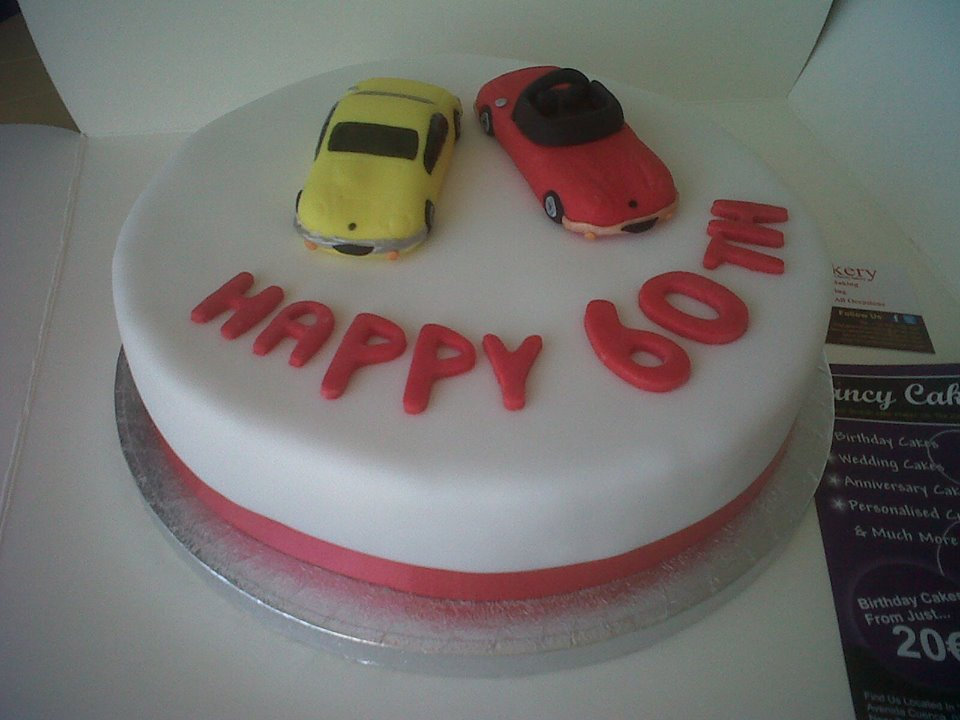 British Birthday cakes Benidorm