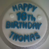 16th Birthday Cake Benidorm