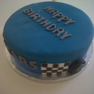 Racing Car Birthday Cake Benidorm