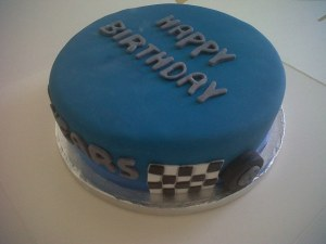 Racing Car simply delicious Birthday cakes from the bakery benidorm