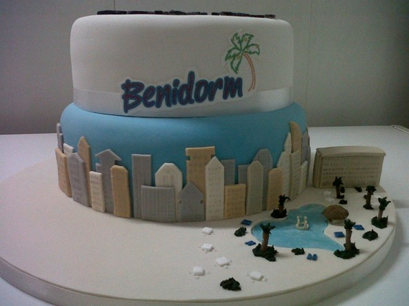 Benidorm Tv Series Danny Walters Birthday Cake 1