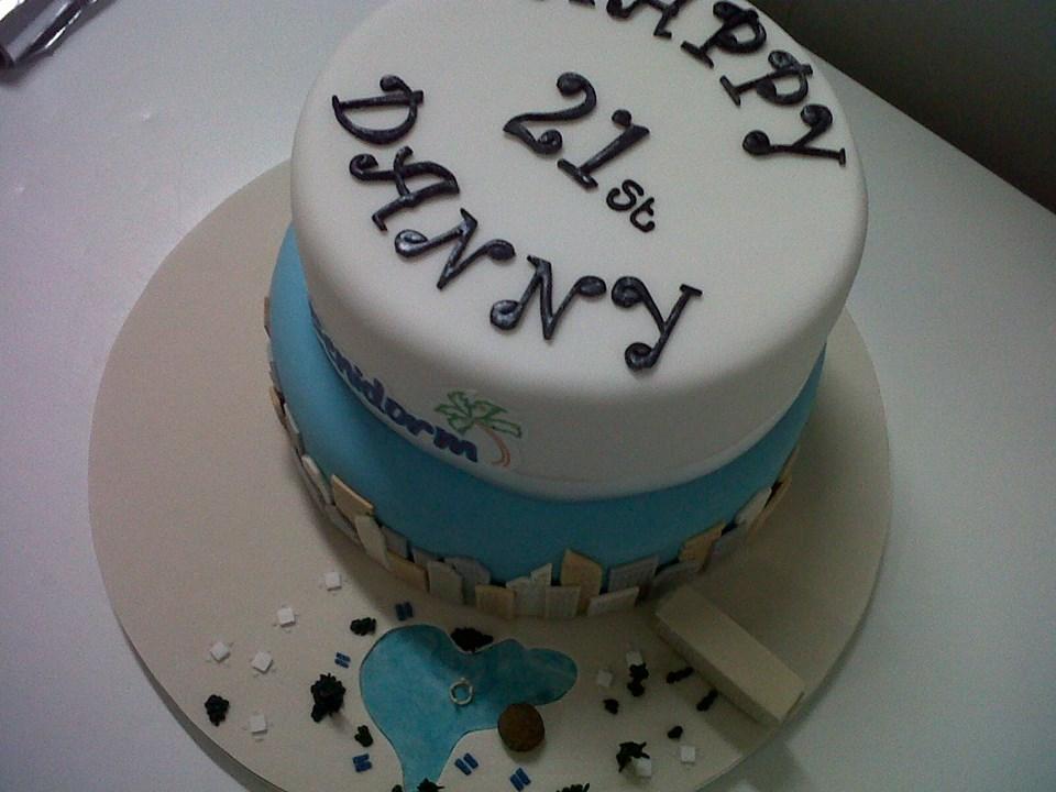Benidorm Tv Series Danny Walters Birthday Cake 2