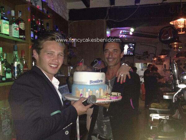 Benidorm Tv Series Danny Walters Birthday Cake 3CR