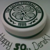 Celtic Football Cake Benidorm