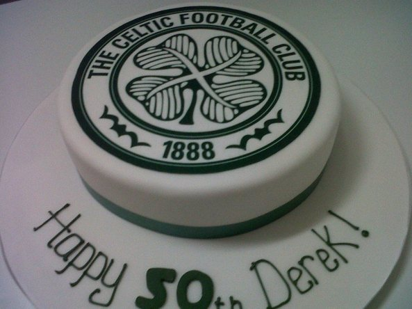 Celtic Birthday Cake Benidorm Albir