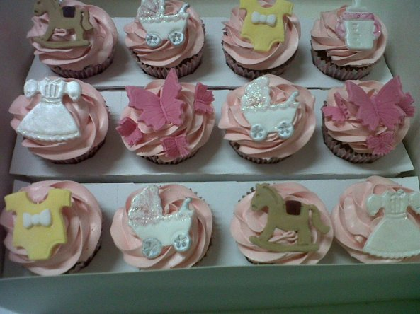 Fancy Cakes baby shower cupcakes benidorm