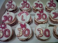30th Birthday & Hen Party Cupcakes Benidorm