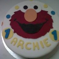 Sesame Street Birthday Cake Benidorm